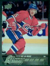JACOB DE LA ROSE  15/16 AUTHENTIC UDS1 YOUNG GUNS CARD  SP