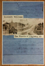 Music Poster Promo Lucinda Williams - The Ghosts of Highway 20