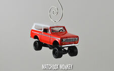1979 International Harvester Scout Custom Christmas Ornament 1/64 '78 Hard Top