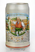 Traditional Munich German Oktoberfest Beer Stein Mug Wirtekrug 2013 - 1 Liter