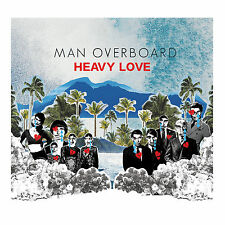 Man Overboard HEAVY LOVE Limited 1st Press NEW SEALED Clear w/ Splatter Vinyl LP