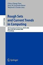Rough Sets and Current Trends in Computing: 6th International Conference, RSCTC