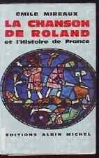 LA CHANSON DE ROLAND ET L HISTOIRE DE FRANCE  MIREAUX
