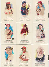 2007 TOPPS ALLEN AND GINTER BASEBALL COMPLETE SET 1-350 + DICK PEREZ SKETCH SET