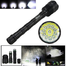 Tactical 28000LM 11x CREE XML LED T6 Emergency Flashlight Taschenlampen Licht