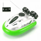 Mini I/R RC Remote Control Sport Hovercraft Hover Boat Toy Green Tide