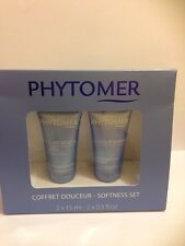Phytomer Softness Set / kit  2 products : vegetal exfoliant , velvety soothing