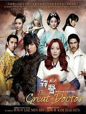 Korean Drama DVD: The Great Doctor / Faith_Lee Min Ho_Good Eng Sub_FREE SHIP'