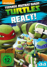 = DVD * TEENAGE MUTANT NINJA TURTLES - REACT! # NEU OVP