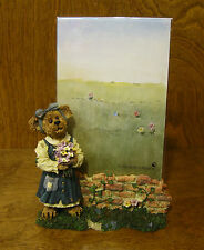 """Boyds Frames #27360 ABBY T BEARYMUCH...YOURS TRULY,  4"""" x 6"""" pic MIB, 7"""" plexi"""