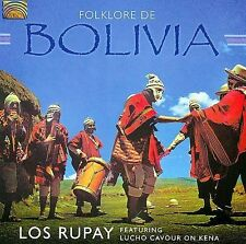 Los Rupay & Lucho Cavour-Folklore De Bolivia CD NEW