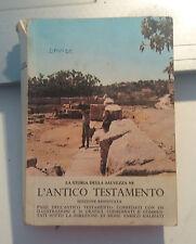 LIBRO LA STORIA DELLA SALVEZZA NE L'ANTICO TESTAMENTO IGS FEB 1978