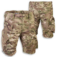 BRITISH ARMY STYLE PCS ACU RIPSTOP MTP MULTICAM SHORTS COMBAT ISSUE CAMO AIRSOFT