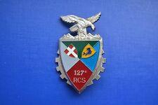 127e Régiment de Commandement et Soutien pucelle insigne militaire RCS armée