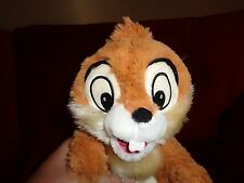 DISNEY STORE EXCLUSIVE SC CHIP CHIPMUNK PLUSH DOLL FIGURE STUFFED SOUVENIR TOY