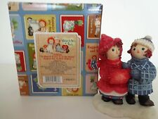RAGGEDY ANN AND ANDY ENESCO TO HAVE A FRIEND IS TO BE HAPPY #709050 MIB