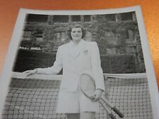 Patricia Canning Todd American tennis player post WW2 WIMBLEDON four Grand Slam