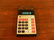Vintage APF Electronics Mark 31 Blue LED 8-Digit Calculator in Working Condition