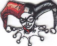 HARLEY QUINN-BATMAN--DC COMICS- GOTHAM-Iron On Patch/TV, Movie,Cartoons,Justice