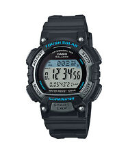 Casio STLS300H-1A, Solar Watch, 5 Alarms, World Time, 2 Countdown Timers, Resin