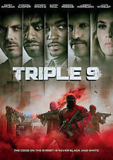 Triple 9,Excellent DVD, Woody Harrelson, Gal Gadot, Michael K. Williams, Teresa