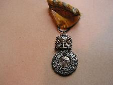 medaille  valeur et discipline argent