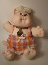 CABBAGE PATCH KIDS Koosas Cat Girl Collar Vintage 1983 Free US Shipping 15""