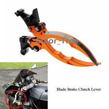 Orange CNC Blade Brake Clutch Lever for KTM 690 Duke R 2014-2016 2015 Adjustable