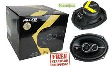 "Kicker 43DSC69304 D-Series 6x9"" 360 Watt 3-Way Car Audio Coaxial Speakers dsc693"
