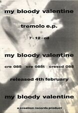 9/2/91PN23 ADVERT: MY BLOODY VALENTINE TREMOLO EP CREATION 7X5