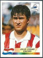 PANINI WORLD CUP FRANCE 1998- #271-PARAGUAY-JULIO CESAR ENCISO