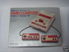90'S VINTAGE COMPUTER & GAME FAMICOM NES CONSOLE GAMES RF,  manual with BOX.