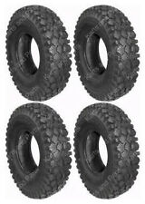 (4) 4.10 x 3.50 - 6 Go-Kart Cart GoKart GoCart MiniBike Mini-Bike Tires
