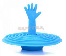 Exquisite Washroom Hand Shape Sink Plug Water Rubber Sink Bathtub Stopper JM