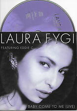 LAURA FYGI - Baby come to me CD SINGLE 2TR DUTCH CARDSLEEVE 1996 RARE!!