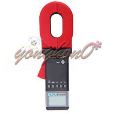 Digital Clamp On Ground Earth Resistance Tester Meter 1-199Ω USG ETCR2000A+