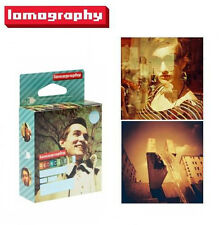 3 X Lomography Redscale 50-200 ISO 100/120 Extended Range Film Fresh!