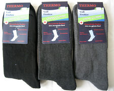 3 P. Winter Socks Thermal Full terry without rubber gray black 39 - 42