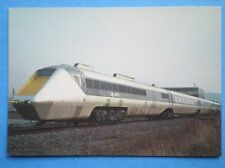 POSTCARD BRITISH RAIL APT-E EXPERIMENTAL GAS TURBINE LOCO