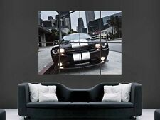 DODGE CHALLENGER SUPER CAR  GIANT WALL POSTER ART PICTURE PRINT