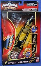 Power Rangers Mystic Force Mystic Morpher New Lights and Sounds Black Gold 2006