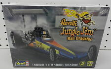 JUNGLE JIM TOP FUEL SLOT CAR DRAGSTER CHEVY DRAG RACE SEALED REVELL MODEL KIT