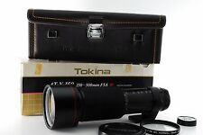 ''Exc++++'' Tokina AT-X SD 150-500mm F/ 5.6 SD MF For Minolta MD w/ Box & Case