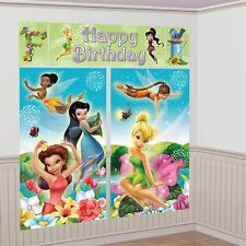 Tinkerbell Disney Scene Setter Wall Decorating Kit (Each) Party Supplies
