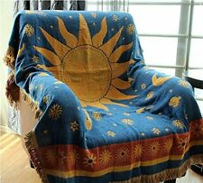 Cotton tapestry sofa blanket throw rugs Wall Hanging Deco the Sun God 130*180cm