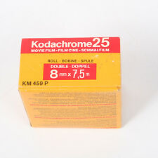 Vintage KODACHROME 25 Color Movie FILM NEW Double Roll 8 MM x7.5m 1979