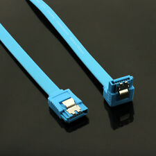 "5 x 20"" SATA 3.0 Cable SATA3 III 6GB/s Right Angle 90 Degree for HDD Hard Drive"
