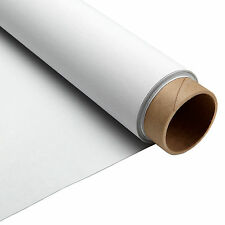 Carl's Blackout Cloth, 4:3, 87x110, Projector Screen Material, White, 1.0 (Tube)