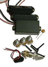 Dragonfire Active 85A SA SA HSS Alnico Pickup Set, Black, works with EMG