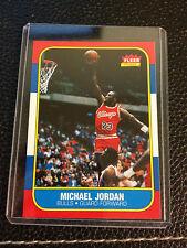 1996-97 MICHAEL JORDAN FLEER DECADE OF EXCELLENCE ROOKIE REPRINT CARD #4